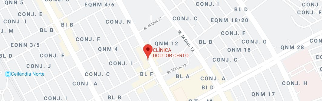 clinica popular aguas claras - doutor certo google maps